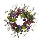"""20"""" Veranda Garden Wreath"""