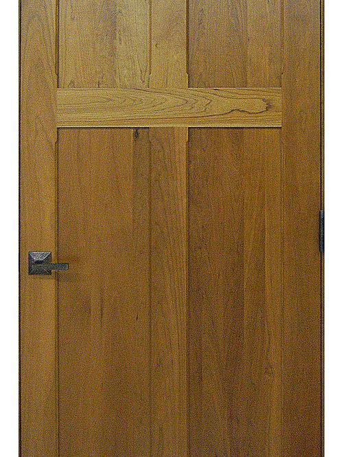 Craftsman Doors - Reverse 4-panel Solid Cherry Door - Interior Doors & Craftsman Doors