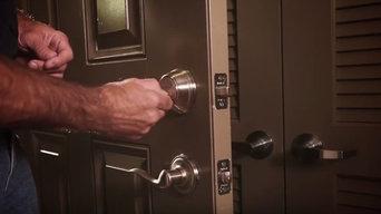 Change a deadbolt kwikset lock