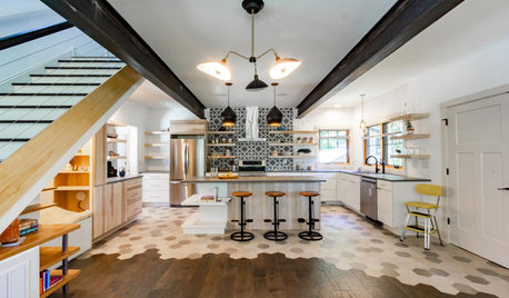 New Materials Channel Raw, Organic Style in an Asheville Kitchen