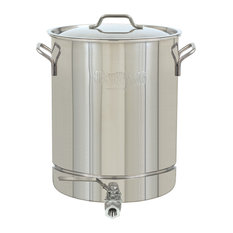 8 Gallon Stainless Stockpot With Spigot