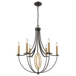 Transitional Chandeliers by ELK Group International