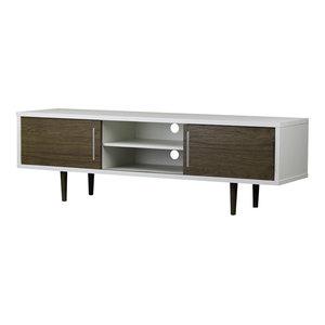 Baxton Studio Gemini Wood Contemporary TV Stand