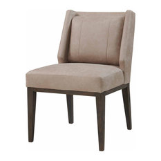 Domina Fabric Dining Chair Devore Gray (set Of 2)