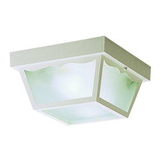Kichler 9322 2 Light Outdoor Ceiling Fixture - White