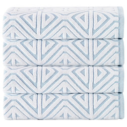 Contemporary Bath Towels by Enchante Home