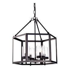 50 most popular orb chandeliers for 2018 houzz edvivi lighting hexagon ceiling fixture chandelier chandeliers aloadofball Images