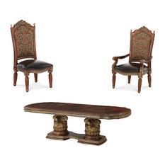 Villa Valencia Rectangular Dining Tables Set 11-Piece Set