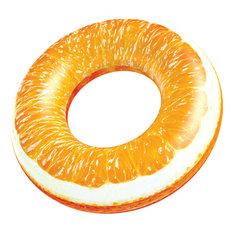 "Tropical Fruit Pool Inflatables, 36"" Tube, Orange"