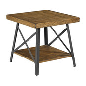 Emerald Home Chandler End Table, Pine Brown