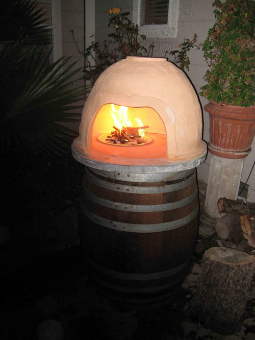 Clay Pizza Oven - Outdoor Grills