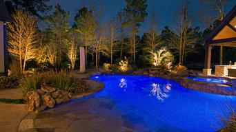 Landscape Lighting Design The Woodlands, TX