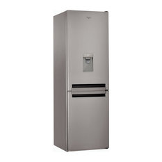 Whirlpool BSNF8451OXAQUA Stainless Steel Frost Free Fridge Freezer