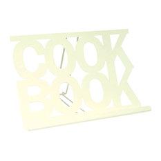 Chef Vida Cookbook Stand, Cream