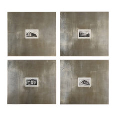 Historical Buildings I Ii Iii Iv Set Of 4 Wall Art by Uttermost