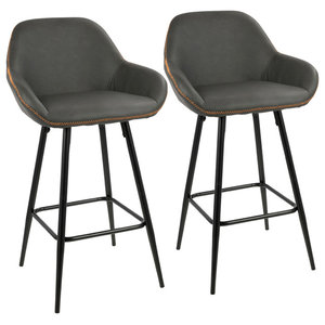 Pleasing Erin Fabric Counter Stool Midcentury Bar Stools And Machost Co Dining Chair Design Ideas Machostcouk