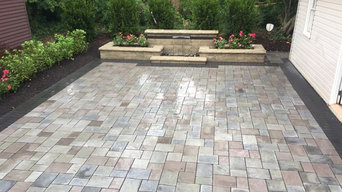 Trenton Patio, Water Feature & Landscaping