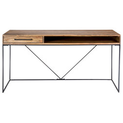 Industrial Desks And Hutches by GwG Outlet
