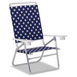Telescope Casual Furniture - Light 'N Easy Folding Arm Chair, Polymer Arms, Betsy, Set of 2 - This Chair is 100% designed, manufactured, and assembled in the USA.