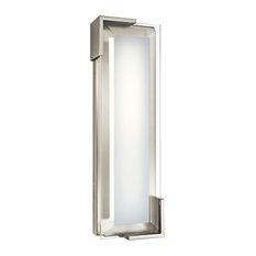 Jaxen 1 Light Bathroom Vanity Light in Brushed Nickel