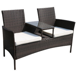 Inspirational Contemporary Outdoor Loveseats by Suntime