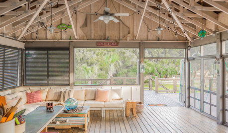 Houzz Tour: New Getaway Channels an Old Fish Camp