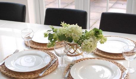 素材もデザインも多彩、テーブルマットの揃え方とコーディネート