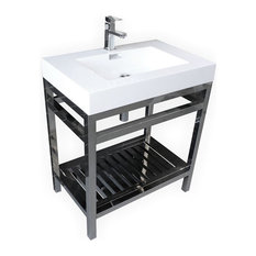 Bathroom Vanity Industrial industrial bathroom vanities | houzz
