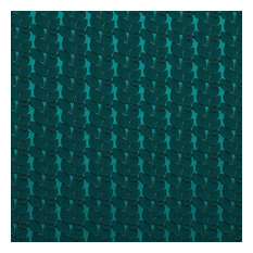 Clint Embroidered Upholstery Fabric, Green