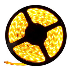 Yellow Super Bright Flexible LED Light Strip 16 Feet, Reel Kit
