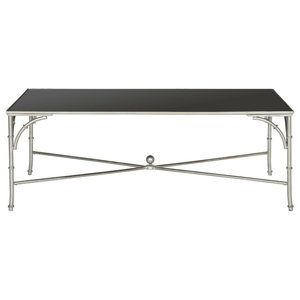 Safavieh Grayson Coffee Table, Silver and Black