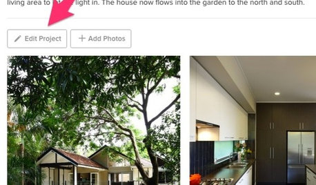 Houzz Tools: Edit Photos and Projects With Ease
