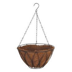 "Hipp Hardware Plus 12"" Contemporary Hanging Basket, HB1326-12"