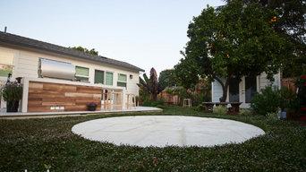 Sunnyvale Porcelain Patio, Custom BBQ & Landscaping