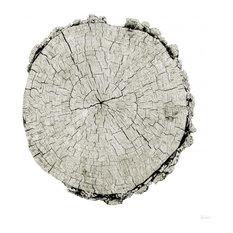 """Woodland Years II on White"" Paper Art, 36""x36"""
