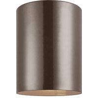 Seagull Lighting 7813897S-10 Outdoor Cylinders Outdoor Fixture, Bronze