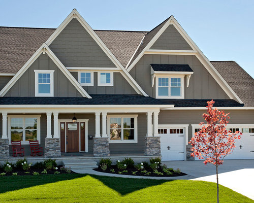 Traditional exterior home design ideas remodels photos for How to design a house exterior