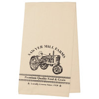 Sawyer Miller Charcoal Tractor Towel