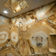 Stone Shower Walls / Surrounds