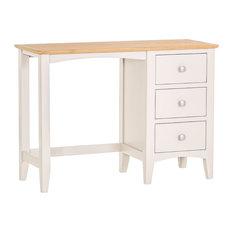 Eva Shaker Painted Oak Dressing Table, Ivory