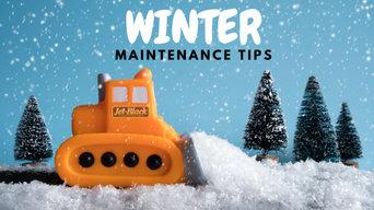 Winter Asphalt Maintenance