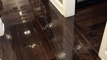 The creation of Tom & Peter Flooring Custom Wood Floors in Skokie