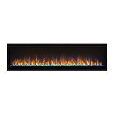 "Alluravision Deep Depth Linear Electric Fireplace, 60"""