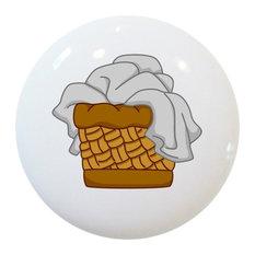 Laundry Basket Ceramic Cabinet Drawer Knob