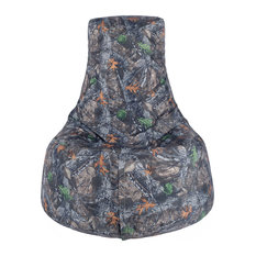 Core Covers   Durable Camo Adult Bean Bag Chair, Backwoods Camo   Bean Bag  Chairs