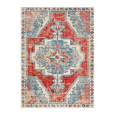 """Henning Updated Traditional  Farmhouse 9' x 13'1"""" Rectangle Area Rug"""
