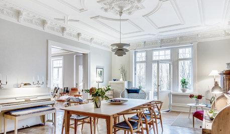 Houzz Швеция: Нордический стиль для датчанина и шведки