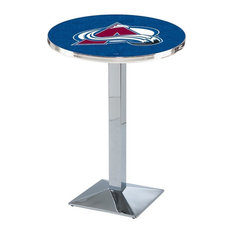 Colorado Avalanche Pub Table 36-inchx36-inch