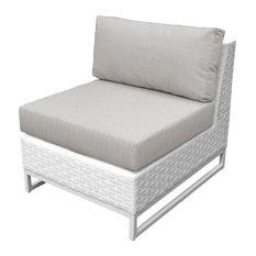Miami Armless Sofa in Ash