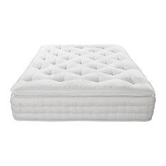 Alpinia 3000 Natural Pillow Top Pocket Mattress, UK King